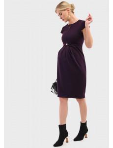"""Платье """"Грейси"""" для беременных и кормящих цвет слива"""