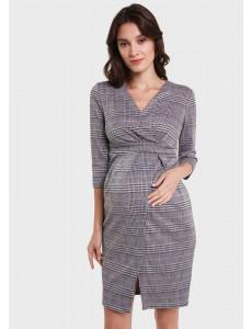"""Платье """"Аврора"""" для беременных и кормящих, цвет: серый"""