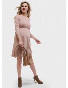 """Платье """"Алиша"""" для беременных и кормящих, цвет: бежевый"""