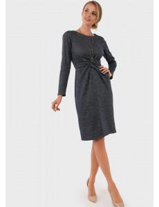 """Платье """"Ария"""" для беременных и кормящих, цвет: синий"""