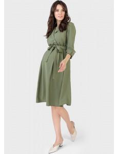 """Платье """"Валерия"""" для беременных и кормящих, цвет: зеленый"""
