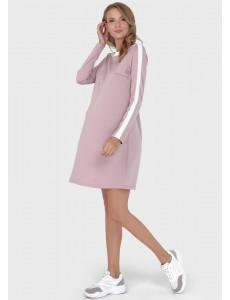 """Платье """"Лилу"""" для беременных и кормящих, цвет: пудра"""