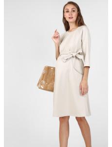 """Платье """"Рената"""" для беременных и кормящих, цвет: бежевый"""