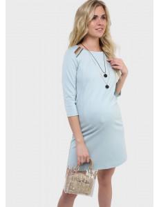 """Платье """"Ферн"""" для беременных и кормящих, цвет: селадон"""