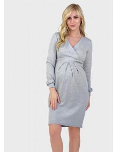 """Платье """"Эрмина"""" для беременных и кормящих, цвет: голубой"""