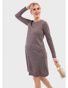 """Платье """"Мишель"""" для беременных; цвет: слива"""
