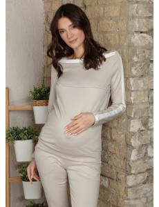 """Костюм """"Эбигейл"""" для беременных и кормящих; цвет: бежевый"""