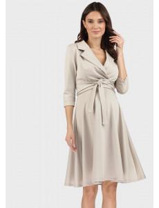 """Платье """"Валери"""" для беременных и кормящих; цвет: бежевый"""