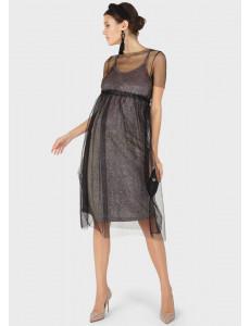 """Платье """"Дэшер"""" для беременных; цвет: черный"""