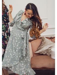 """Платье """"Николь"""" для беременных и кормящих; цвет: шалфей"""