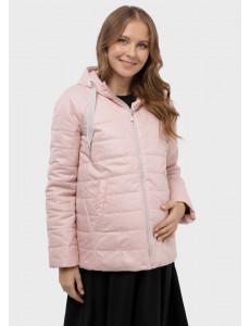 """Куртка демис. 2в1 """"Невада"""" для беременных; цвет: пудра"""