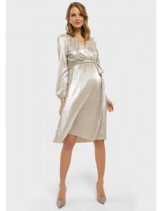 """Платье """"Монро"""" для беременных и кормящих; цвет: айвори"""