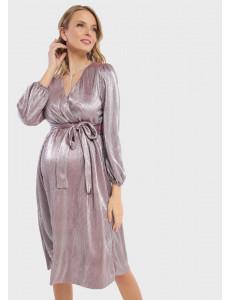 """Платье """"Монро"""" для беременных и кормящих; цвет: марсала"""