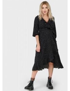 """Платье """"Николь"""" для беременных и кормящих; цвет: черный"""