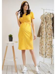 """Платье """"Сания"""" для беременных и кормящих; цвет: медовый"""