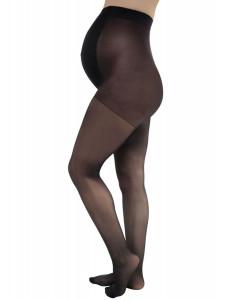 Колготки для беременных с мультифиброй 20 den; цвет: черный