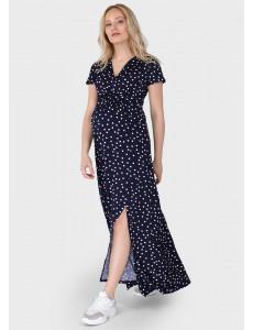 """Платье """"Лианель"""" для беременных и кормящих; цвет: синий"""