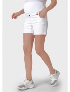 """Шорты """"Стайл 053"""" для беременных; цвет: белый"""