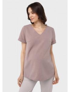 """Блузка """"Дороти"""" для беременных; цвет: бежевый"""
