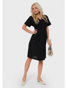 """Платье """"Роксана"""" для беременных и кормящих; цвет: черный"""