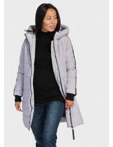 """Куртка зимн. 2в1 """"Копенгаген"""" для беременных; цвет: серый"""
