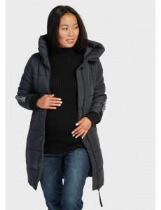 "Куртка зимн. 2в1 ""Копенгаген"" для беременных; цвет: синий"