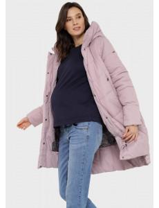 """Куртка зимн. 2в1 """"Монблан"""" для беременных; цвет: припыленная роза"""