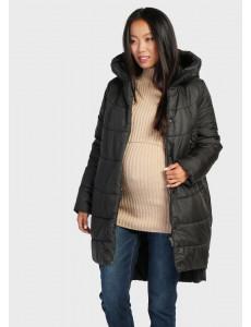 """Куртка зимн. 2в1 """"Монблан"""" для беременных; цвет: черный"""