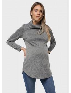 """Джемпер """"Ронни"""" для беременных; цвет: серый"""