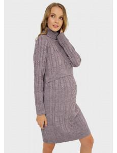 """Платье """"Лабель"""" для беременных и кормящих; цвет: орхидный"""