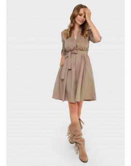 """Платье """"Марика"""" для беременных и кормящих; цвет: бежевый"""