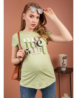 """Футболка """"Фиджи"""" для беременных; цвет: софтграсс"""