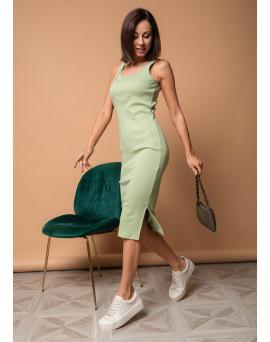 """Платье """"Кашкорсе"""" для беременных и кормящих; цвет: софтграсс"""