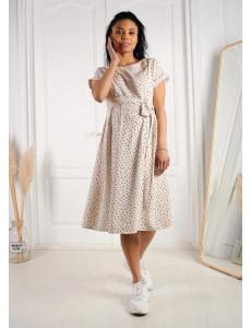 """Платье """"Юлиана"""" для беременных и кормящих; цвет: Бежевый"""