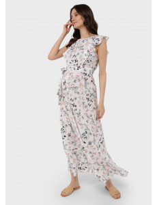 """Платье """"Амина"""" для беременных и кормящих; цвет: молочный"""