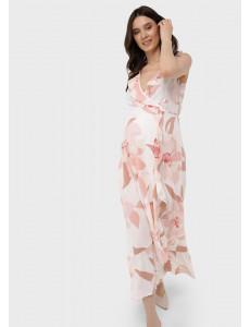 """Платье """"Василиса"""" для беременных и кормящих; цвет: пудровый"""