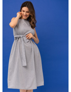 """Платье """"Иоланта"""" для беременных и кормящих; цвет: синий"""