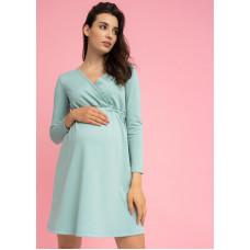 """Платье """"Уитни"""" для беременных и кормящих; цвет: селадон aw21"""
