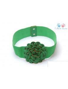 Ремень R03 зеленый (free size)