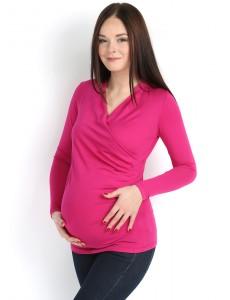 """Блуза """"Сюзанна"""" азалия для беременных и кормящих"""