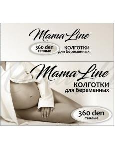 806 Колготки для беременных MamaLine 360 den Акрил шерсть, черный