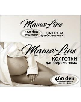 807 Колготки для беременных MamaLine 460 den Акрил шерсть, черный