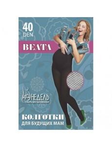Колготки 40 Beata, nero, чёрный