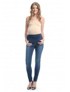 2495.0051. брюки джинс уз сил с круг трик поясом тёмно-син