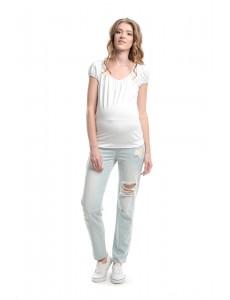 """2106.0018 брюки джинсовые прямого силуэта """"бойфренды"""" светло-голубой"""