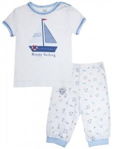 104232 Пижама для мальчика Белый