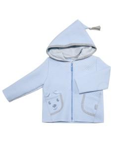 116271 Куртка уни Бледно-васильковый
