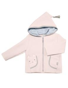116271 Куртка уни Теплый розовый