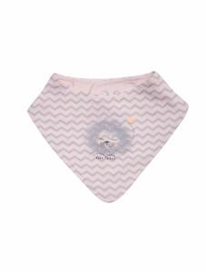 119345 Слюнявчик- косынка унисекс Розовый персик