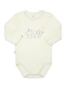 102437 Боди-футболка унисекс Кремовый